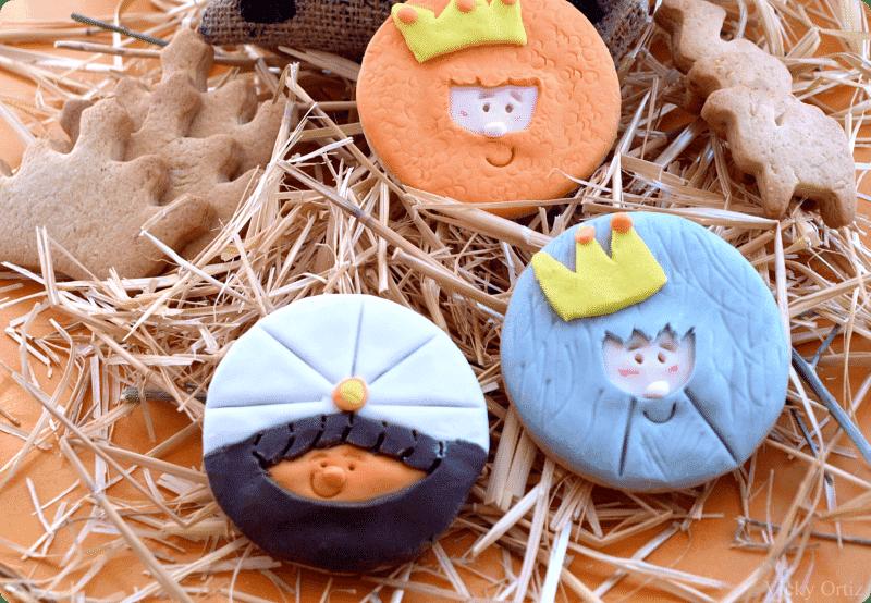 Galletas de los Reyes Magos