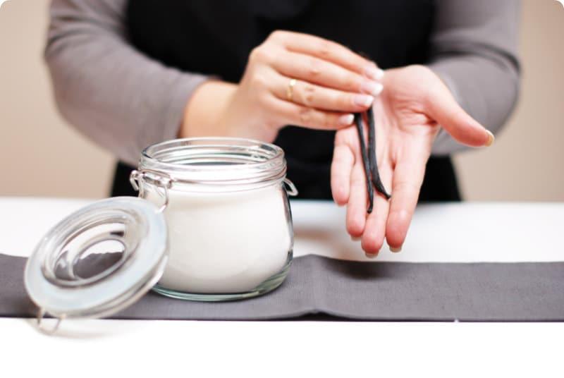 Azúcar vainillado casero, muy fácil de hacer