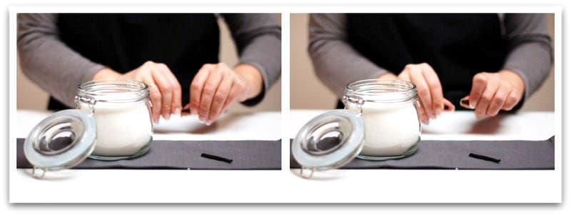 Para hacer azúcar vainillado prepara un tarro hermético con azúcar