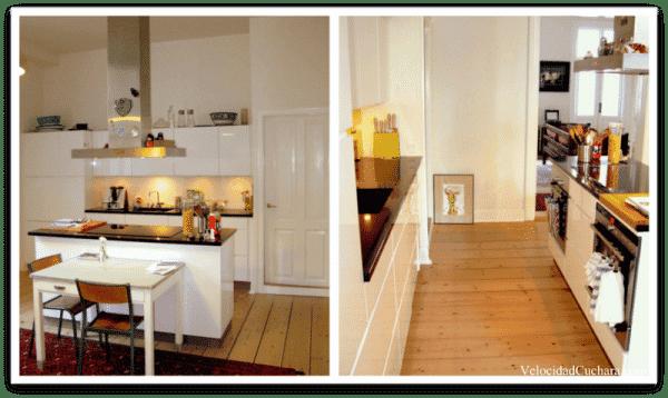 Imágenes de la preciosa cocina de Lola