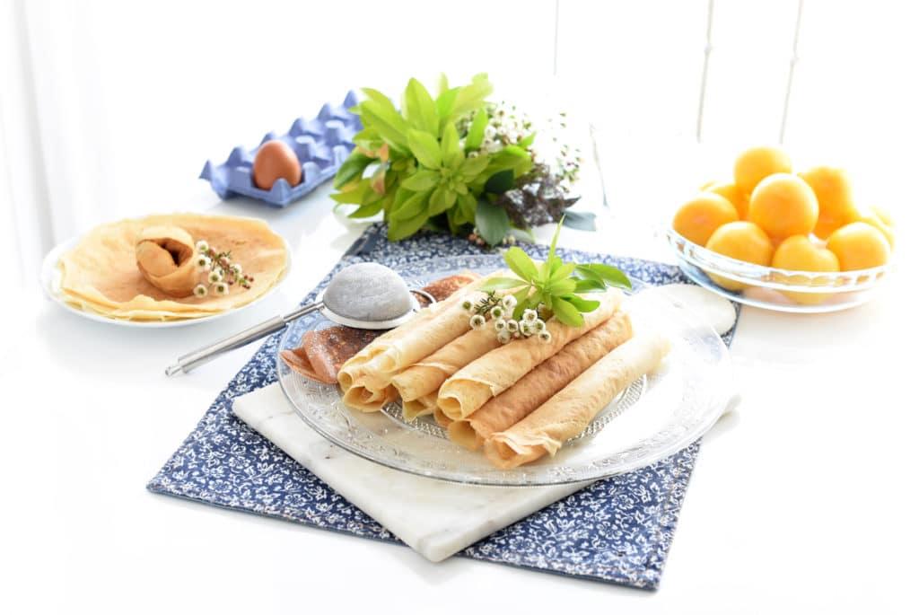 Filloas gallegas, receta tradicional