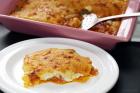 Parmentier de patata al parmesano
