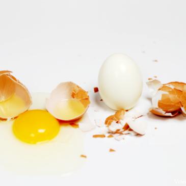 ¿Cómo diferenciar un huevo duro de uno crudo?