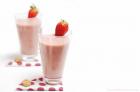 Smothie de fresas, sano y delicioso