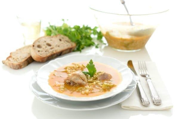 Arroz caldoso con pollo y verduras en Thermomix®