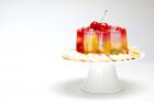 Corona de frutas con agar-agar