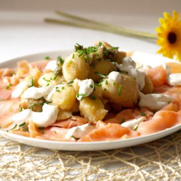 Ensalada de patata perfecta de Jamie Oliver