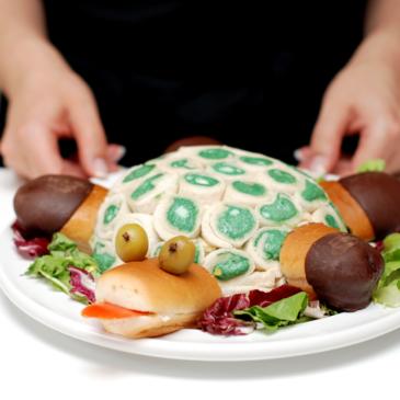Tortuga Gertrudis versión salada