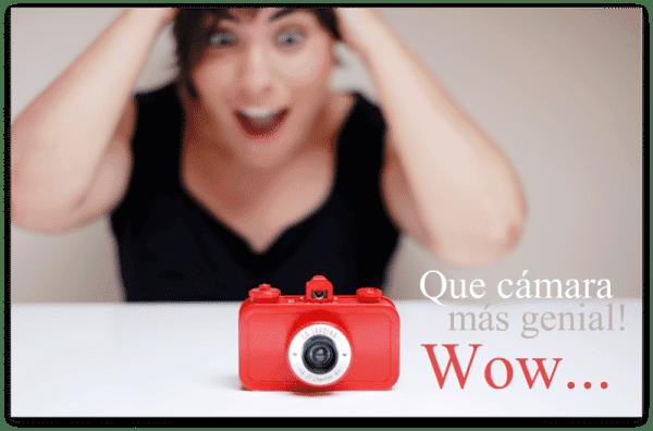 Pedazo cámara LA SARDINA, es divertida y analógica