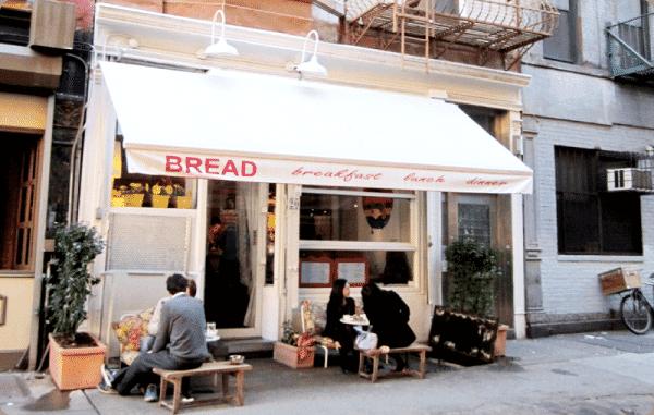 Bread, bocatería deliciosa con ricas ensaladas en Spring st