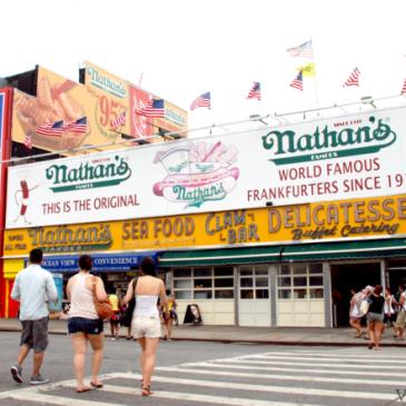 Nueva York: Nathan's Famous en Coney Island