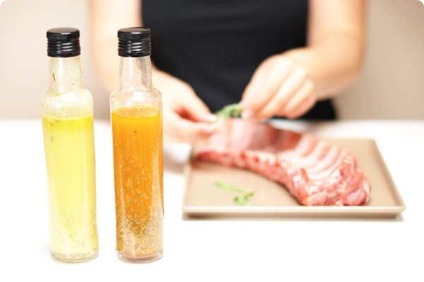 Salsa Chimichurri, para carnes a la barbacoa con Thermomix