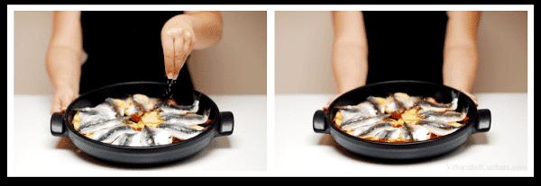Solo queda echarle la sal y dejarlo al fuego 15 minutos haciendo ¡chupchup!