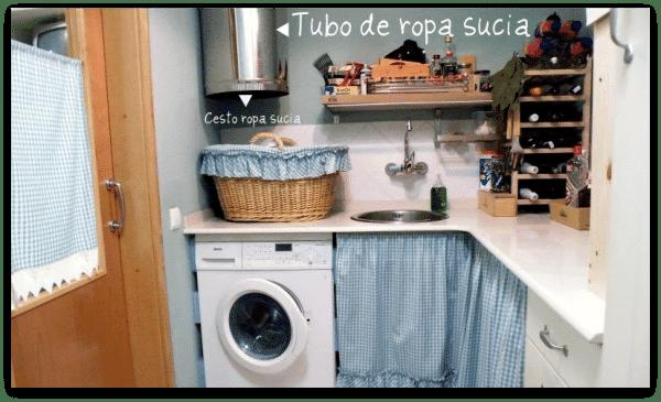 Cocina en colores claros: el cuarto despensa