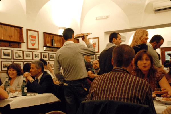 """Roma: Trattoria """"La Montecarlo"""""""