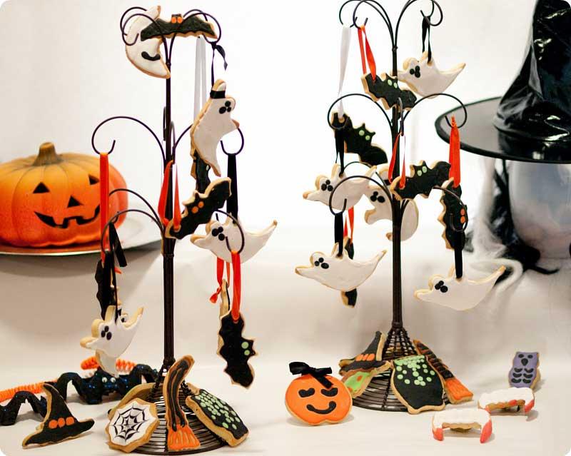 Galletas decoradas para Halloween con Thermomix