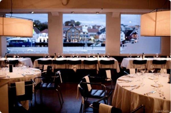 Restaurante Tango en Stavanger (Noruega)
