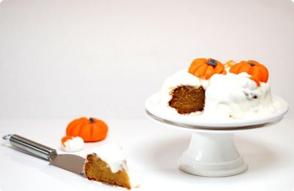 Tarta de calabaza o pumpkin cake