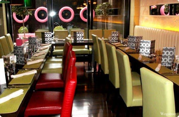 Wogaboo, restaurantes de cocina internacional