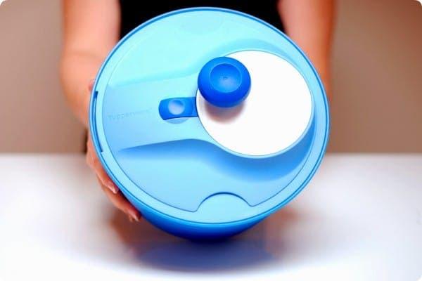 Mi centrifugador de lechuga