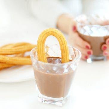 """Chocolate a la taza con """"Cointreau"""", mi preferido"""