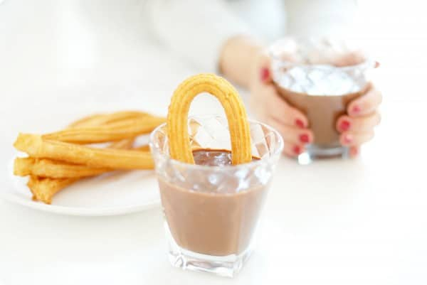 """Chocolate a la taza casero con """"Cointreau"""""""