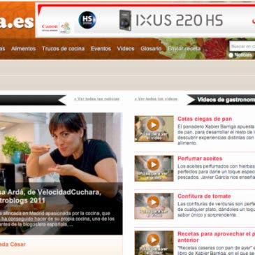 Entrevista en Cocina.es