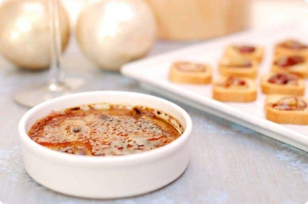 Créme brûlée de foie gras