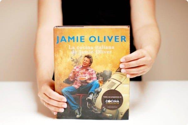 El libro de Jamie Oliver de cocina Italiana