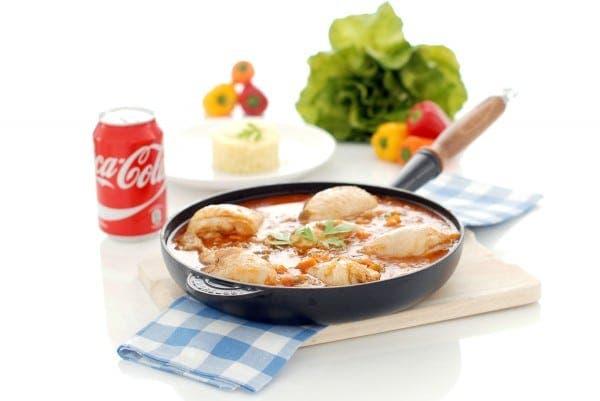 Pollo a la CocaCola con cuscús