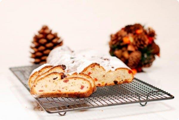 El Stollen es un dulce típico Alemán para la Navidad