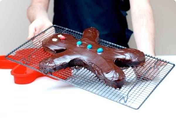 Receta de Gingerman de chocolate para Reyes con Thermomix