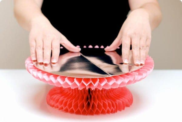 Sirve tartas de papel o paper cake stand