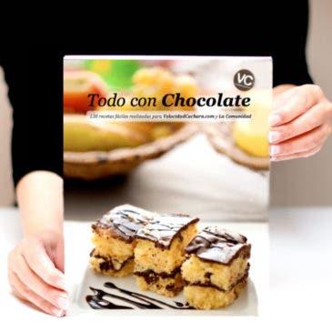 """Recetario """"Todo con chocolate"""""""