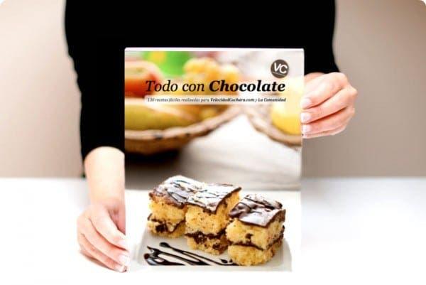 """Ya está listo el libro """"Todo con chocolate"""" Descárgatelo gratis"""