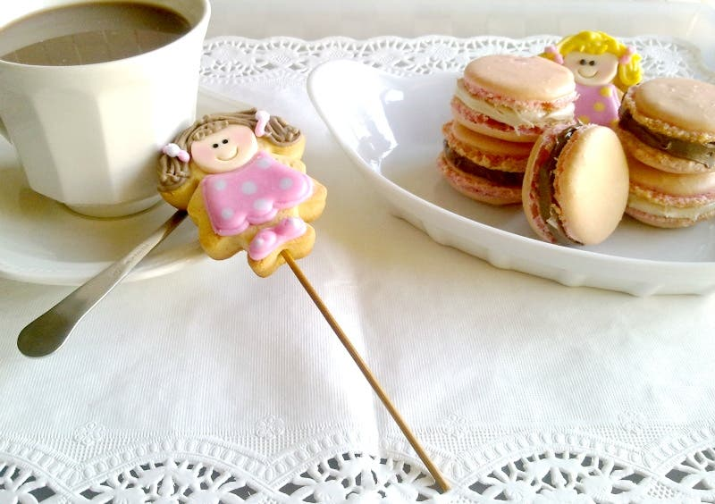 Macarons Franceses con Thermomix