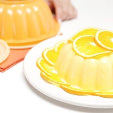 "Bavaroise de naranja con ""Federica"""