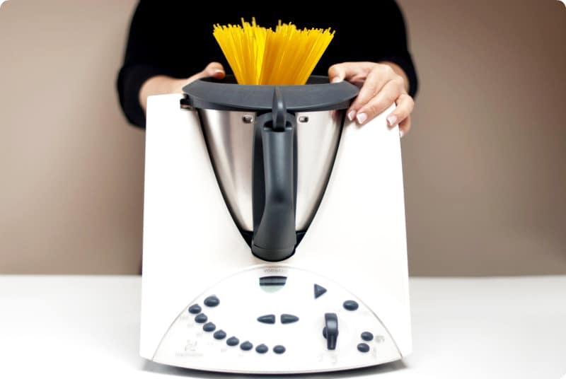 Cómo cocer pasta seca fácilmente en la Thermomix