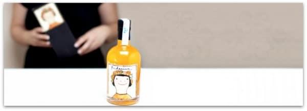 """Os presento a """"Federica"""" el arancello de Valencia, un licor de naranja"""