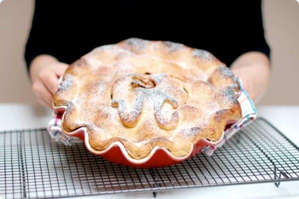 Pastel de manzana o American Apple pie thermomixera