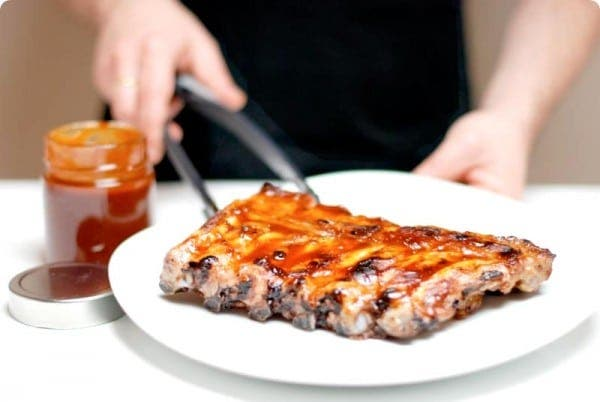 Receta de Costillas al estilo Foster Hollywood