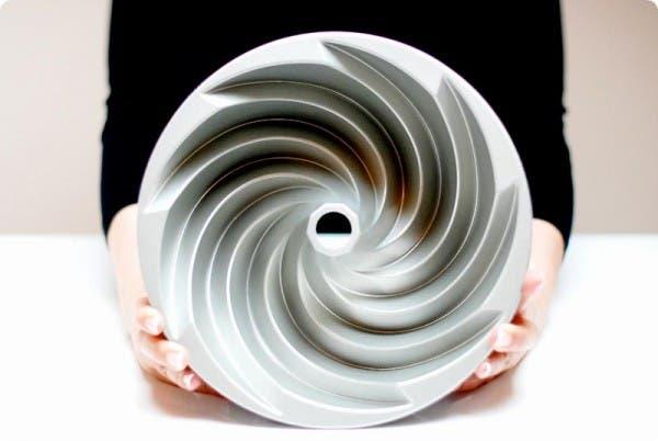 Mi nuevo molde Bundt de Nordic Ware, para bizcochos con Thermomix