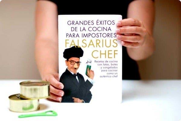 """Falsarius Chef, nuevo libro """"Grandes éxitos de la cocina para impostores"""""""