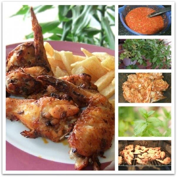 Las alitas de pollo adobadas de Beatriz