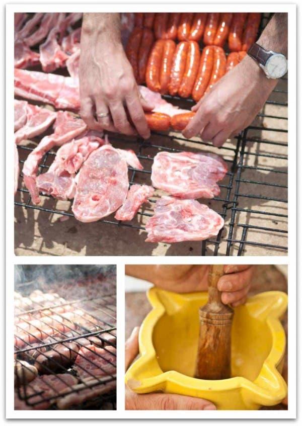 Ahora que las brasas están lista, ya sabes con que salsa untar la carne