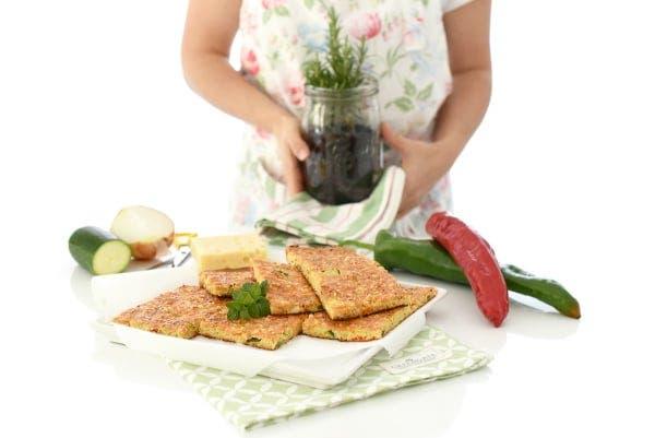 Coca exprés de verduras y anchoas con Thermomix®