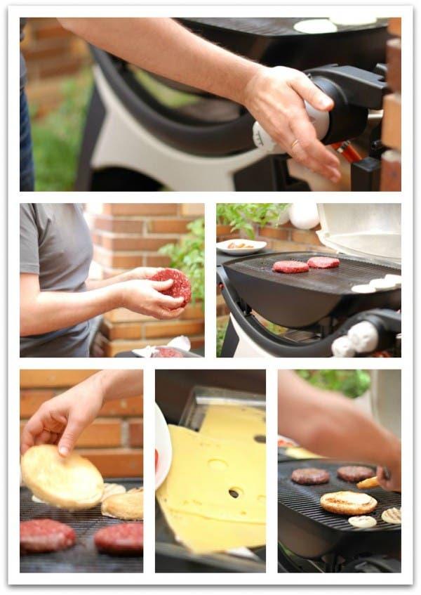 Prepara tu parrilla para las hamburguesas