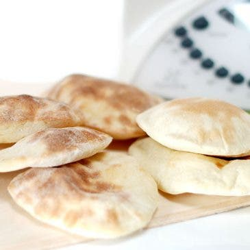 Pan de pita con Thermomix