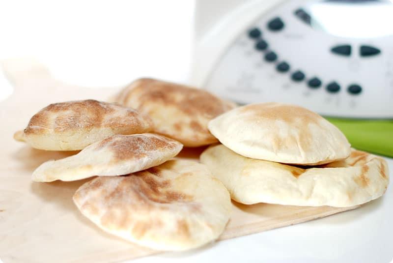 Masa de pan sin levadura thermomix