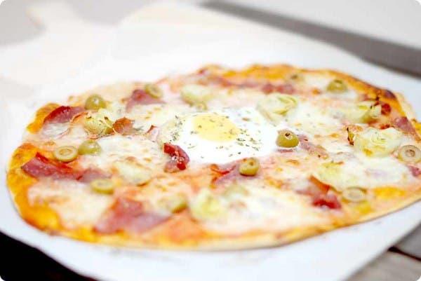 Menuda pizza te vas a zampar